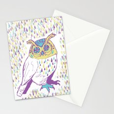The second owl Stationery Cards