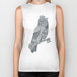 Owl King Biker Tank