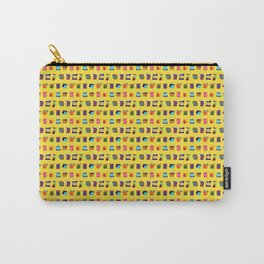 12 Unsatisfied Customers - Hello Yellow Carry-All Pouch
