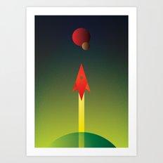 New World Art Print