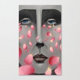 Their Falling Gaze Canvas Print