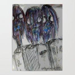 Zombie Trio Poster