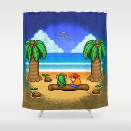 Toronbo Shores Shower Curtain