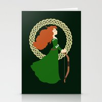 merida Stationery Cards featuring Merida  by Cantabile