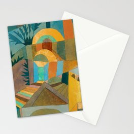 """Paul Klee """"Temple Gardens 1920"""" Stationery Cards"""