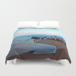 Relics by the Sea Duvet Cover