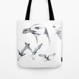Great Black-backed Gull - Larus marinus   SK043 Tote Bag