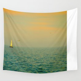 Sailing on The Great Lakes Wall Tapestry