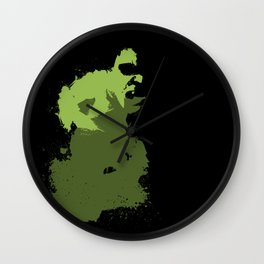 Hulk Splatter Wall Clock