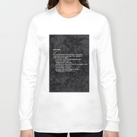 fruit Long Sleeve T-shirts featuring fruit by Anna Karapiperidis