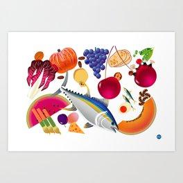 GNAM! Art Print