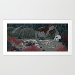 If They Couldn't Die, We Would Call Them Something Else Art Print