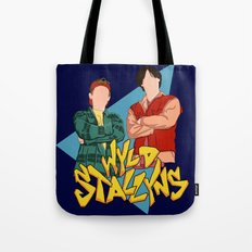 Bill and Ted Wyld Stallyns Tote Bag