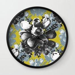 Erin's Tulips Wall Clock