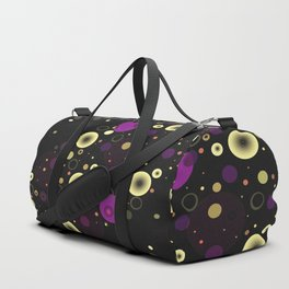 Circles with black Duffle Bag