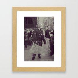 Time Will Not Wait Framed Art Print