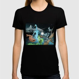 The Swan's Procession T-shirt