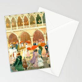 """Maurice Prendergast """"Sunlight on the Piazzetta"""" Stationery Cards"""
