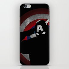 SuperHeroes Shadows : Captain America iPhone & iPod Skin