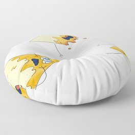 nachos 2 Floor Pillow