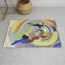 "Robert Delaunay ""Political Drama"" Rug"