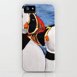 Atlantic Puffin Pair iPhone Case