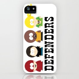 The Defenders iPhone Case