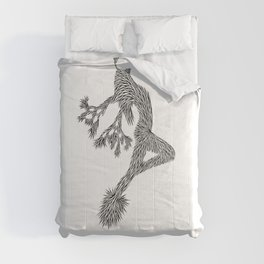Quail Woman by CREYES of ArtFx Old Town Yucca Valley Comforters