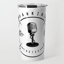 Hawkins Radio Club Indiana Travel Mug