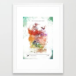 A Love Letter - The Piano & The Voice Framed Art Print