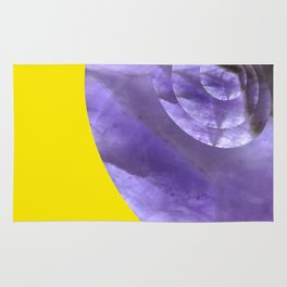 Yellow Mystical Powers of Amethyst #society6 Rug