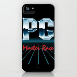 PC Master Race 80s iPhone Case