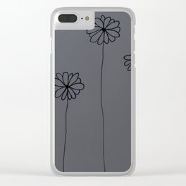 Little Daisys Clear iPhone Case