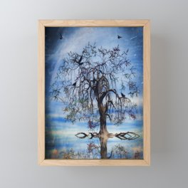 The Wishing Tree Framed Mini Art Print