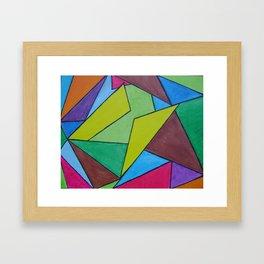 """""""Yellow-Butterfly"""" Framed Art Print"""