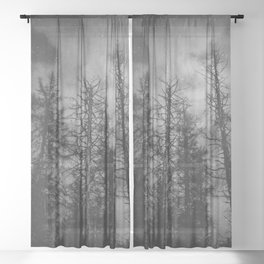 Transmission Sheer Curtain