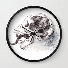 Poisoned Mind Wall Clock