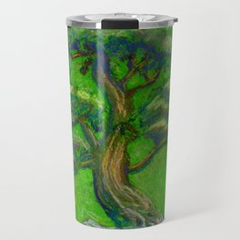 Bonsai Tree Green Travel Mug
