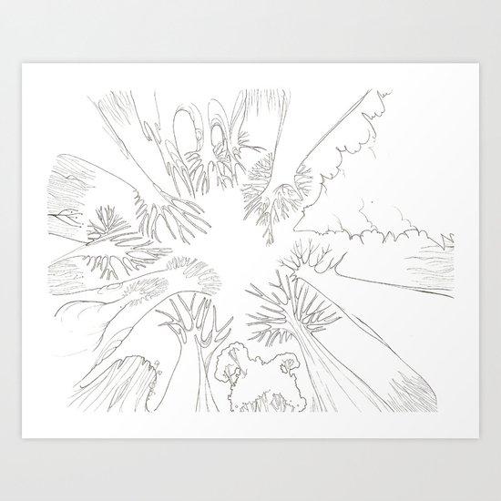 El Bosque Art Print