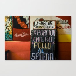 South America travel Canvas Print
