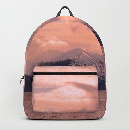 Rose Quartz Over Hope Valley Backpack
