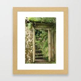The Secret Garden Framed Art Print