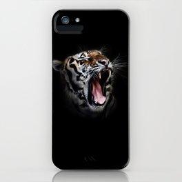 Ferocious Tiger iPhone Case