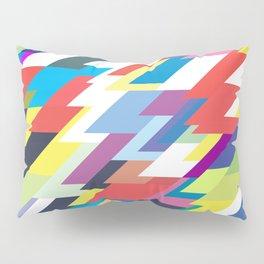 Layers Triangle Geometric Pattern Pillow Sham