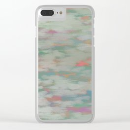 colorful pattern Clear iPhone Case