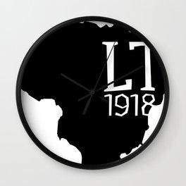 LT1918 BLK Wall Clock