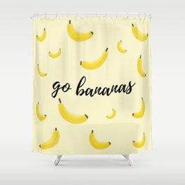 Go Bananas Shower Curtain