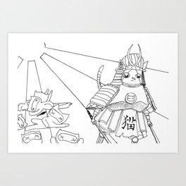 Samurai Pippin Art Print