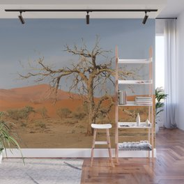 Namibia Desert with Sand Dunes Wall Mural