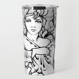Time Passes Travel Mug